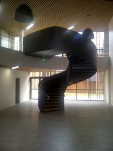 thermolaquage d'un escalier